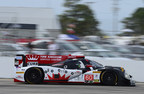 Olivier Pla led a 1-2 Honda result in qualifying for Saturday's 12 Hours of Sebring