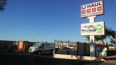 U-Haul is working to revitalize a historic Mesa community through the acquisition of a former storage facility at 255 E. McKellips Road. U-Haul Moving & Storage of Riverview opened in April