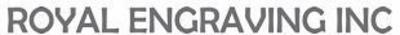 Royal Engraving Logo. (PRNewsFoto/Royal Engraving, Inc.) (PRNewsFoto/ROYAL ENGRAVING, INC.)