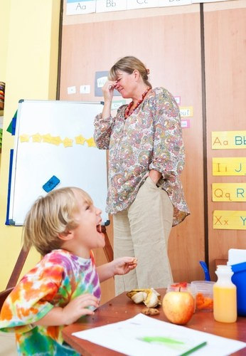 Due to their cumulative noise exposure, teachers are at higher risk for hearing loss, yet many teachers are not seeking the hearing health care they need. (PRNewsFoto/EPIC Hearing Healthcare)