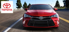 The 2015 Toyota Camry received such a thoroughly upgrade inside and out that only the roof panel remains untouched  from the previous year. (PRNewsFoto/Dan Jacobs Toyota)