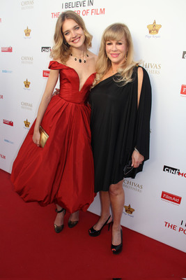 Supermodel Natalia Vodianova Hosts Fundraiser Gala in Cannes in Partnership With Cinemoi Television Network Benefitting FilmAid International & Naked Heart Foundation.  (PRNewsFoto/Cinemoi Television Network)