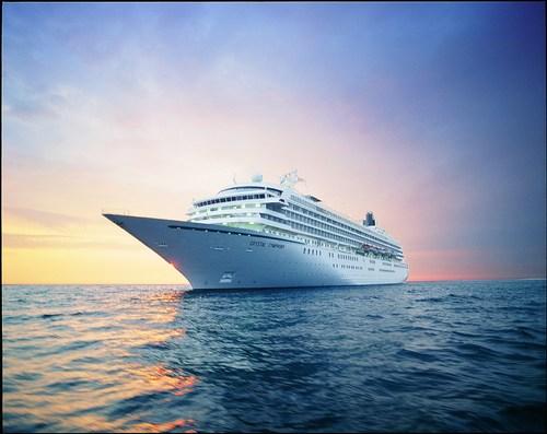 Crystal Symphony at sea (PRNewsFoto/Crystal Cruises)