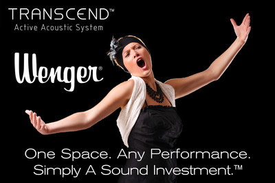 Wenger Transcend: One Space. Any Performance. Simply A Sound Investment.(TM)