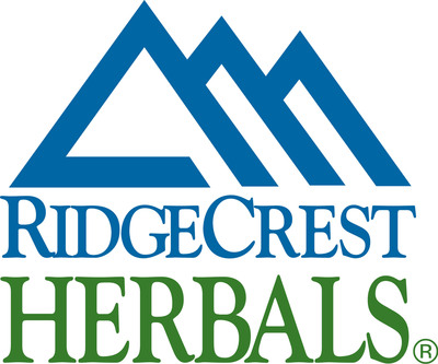 RidgeCrest Herbals' new patent is for a method that allows the company to combine homeopathic ingredients (which use traces of natural substances to trigger natural healing responses from the body) with stronger and faster-working herbal ingredients without reducing the effective strength of the herbs and without the need for lactose and sucrose, which are traditionally used to deliver homeopathic ingredients.  (PRNewsFoto/RidgeCrest Herbals)