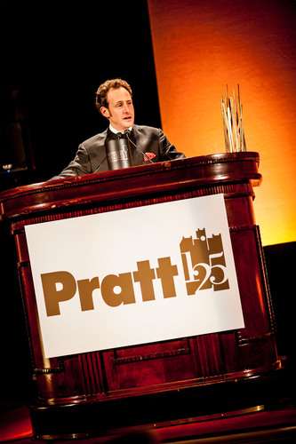 Maximilian J Riedel Named Pratt Institute Legend.  (PRNewsFoto/Riedel, Joshua Wong Photography)