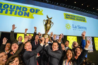 La Sierra University team named 2016 Enactus U.S. National Champions!