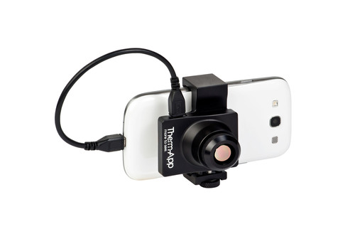Therm-App(TM) transforms Android smartphones into powerful thermal cameras, featuring long-range night vision ...