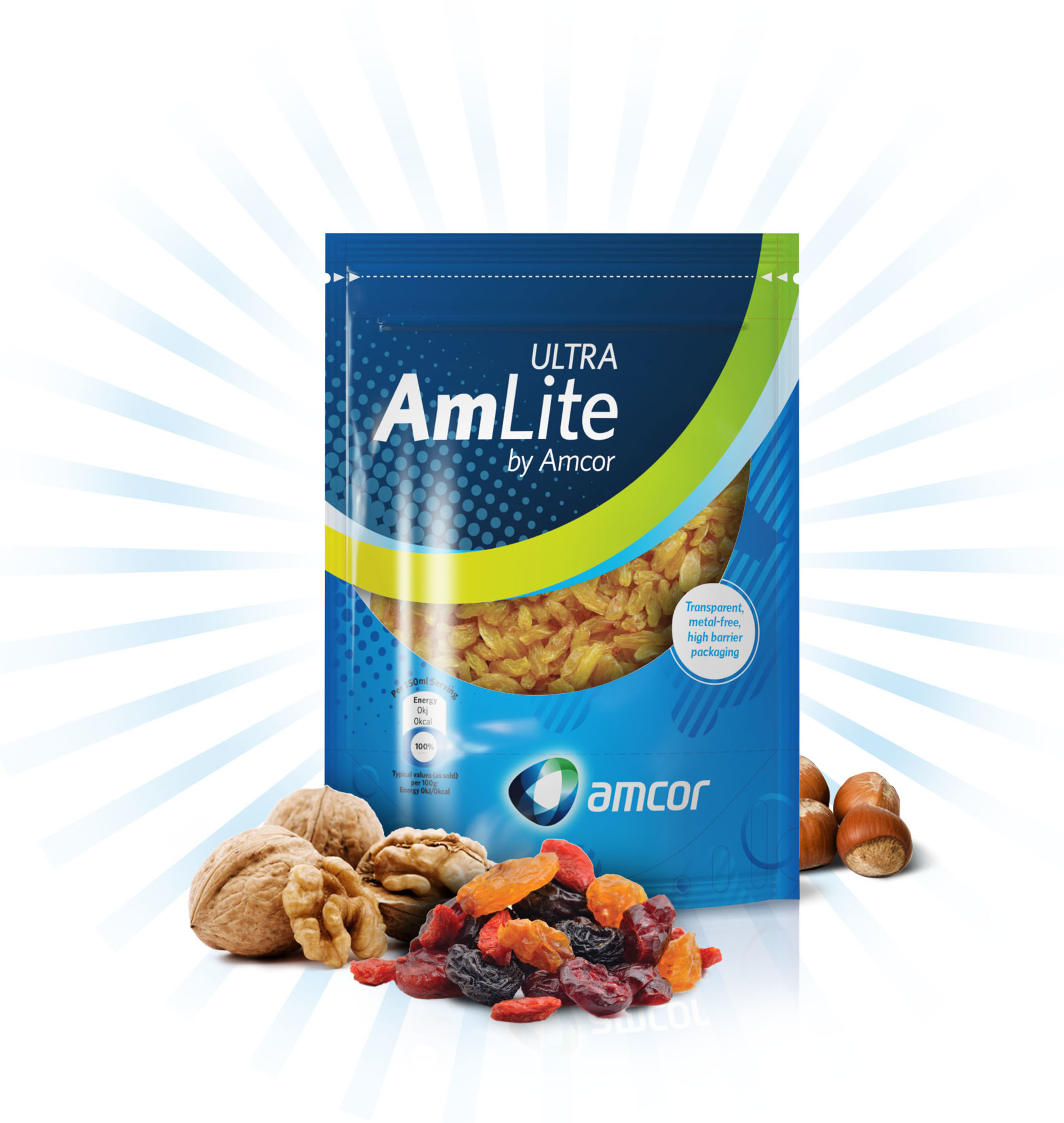 AmLite Ultra makes lighter, more sustainable metal-free packaging an option even for products requiring an ultra-high barrier