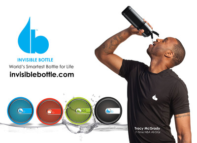 Tracy McGrady and Invisible Team Up to Launch the World's Smartest Multi-Functional Bottle