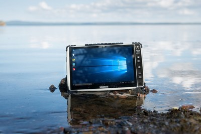 Algiz 10X rugged PCAP tablet (PRNewsFoto/Handheld Group)