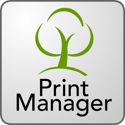 Print Manager Logo.  (PRNewsFoto/Print Manager)