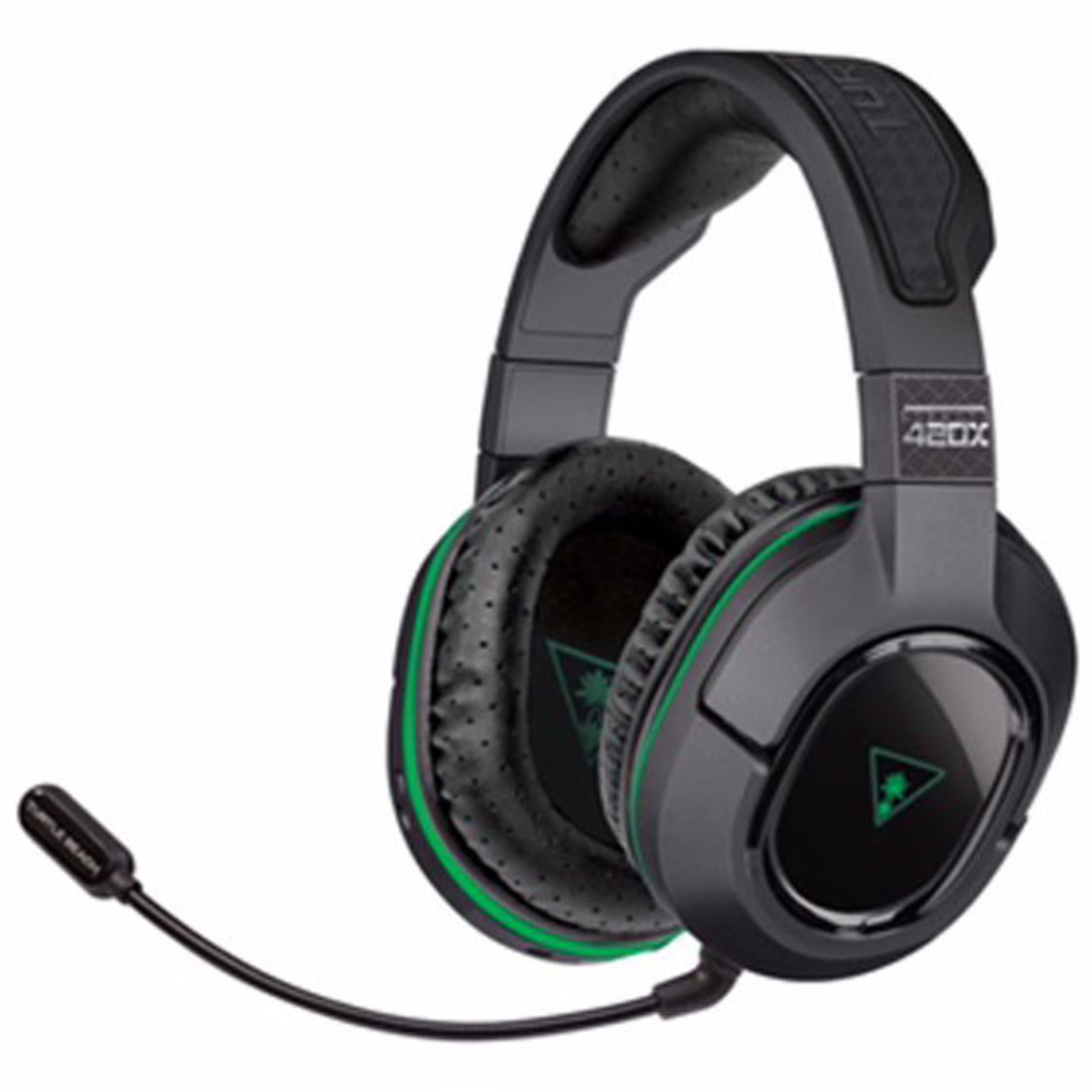 Officially Licensed for Xbox One, Turtle Beach's Stealth 420X Offers a Suite of High-Quality Features, Including 50mm Speakers, Synthetic Perforated Leather-Wrapped Ear-Cups, Mic Monitoring, Independent Game and Chat Audio Controls, Plus a 15 Hour Rechargeable Battery and More