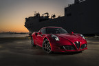 Playboy Magazine Names The All-New 2015 Alfa Romeo 4C As One of its '2015 Cars of the Year'