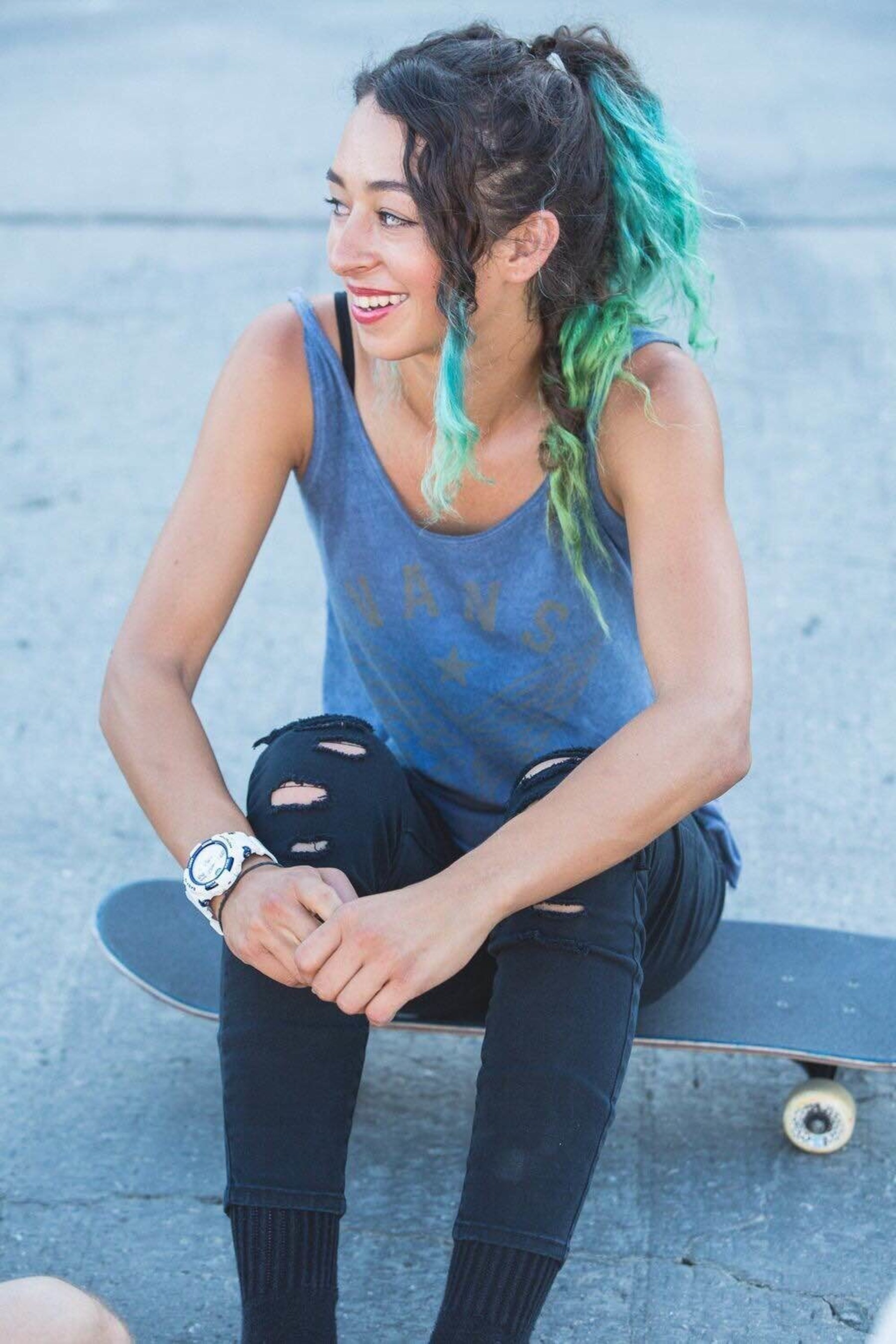 Casio BABY-G Announces Partnership With Skateboarder Lizzie Armanto