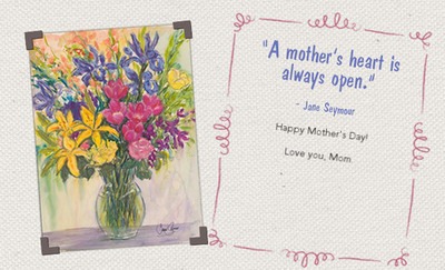 Recognize any special person in your life with a beautiful Kay Loves Family e-card