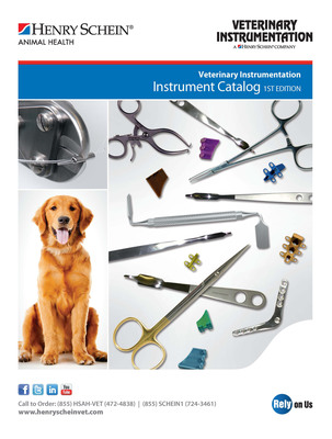 Henry Schein Animal Health Launches Its First Orthopedic Instrument Catalog.  (PRNewsFoto/Henry Schein, Inc.)