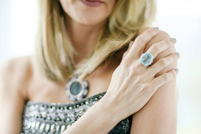 Best Supporting Actress nominee Laura Dern prepares for the Oscars(R) wearing a Bulgari turquoise ring in support of the American Lung Association's LUNG FORCE, an initiative dedicated to raising awareness of the #1 cancer killer of women - lung cancer. Turquoise is the signature color of LUNG FORCE.