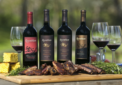 Rosenblum Cellars Iconic Zinfandels Perfect Pairing for Outdoor Holiday Grilling