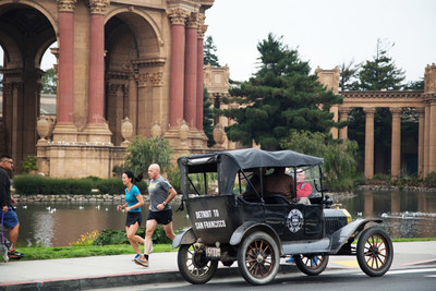 1915 Ford Model T Ends Cross-Country Trip in San Francisco Just as it Happened 100 Years Ago in Celebration of the 1915 World's Fair