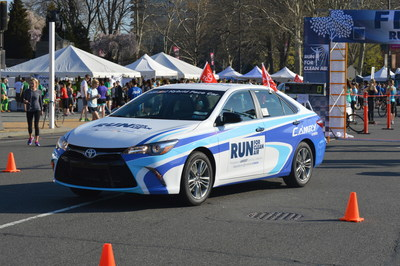 Toyota's Camry Hybrid is the Official Pace Car of the Run for Clean Air.