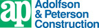 Adolfson & Peterson Construction company logo.