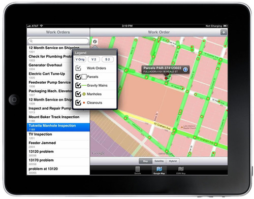 Mobile Asset Visualization on the iPad.  (PRNewsFoto/Interloc Solutions)