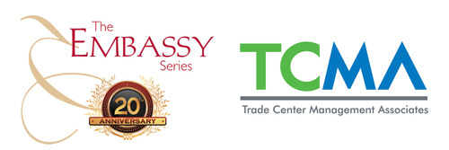 The Embassy Series and Trade Center Management Associates partner for continued support for musical and cultural diplomacy. (PRNewsFoto/RONALD REAGAN BUILDING AND INTERNATIONAL TRADE CENTER) (PRNewsFoto/RONALD REAGAN BUILDING AND IN...)