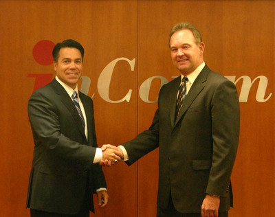 Keith Smith, President of CorFire, and Brooks Smith, InComm President and CEO.  (PRNewsFoto/InComm)