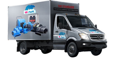 Outfitted by B-Air with the highest quality equipment and specially engineered to efficiently address all water damage restoration situations.