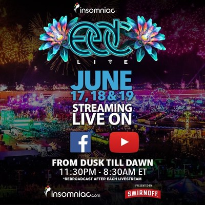 Insomniac Announces Live Stream Details for 20th Anniversary of Electric Daisy Carnival in Las Vegas