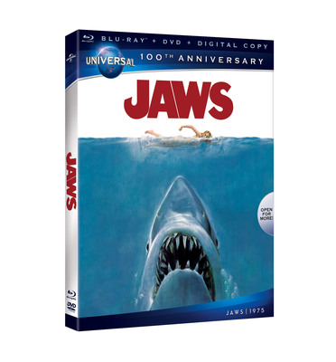 JAWS Blu-ray Combo Pack.  (PRNewsFoto/Universal Studios Home Entertainment)