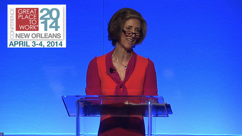 New Chairman Of Mars, Incorporated, Victoria B. Mars Delivers Keynote At 2014 Great Place To Work®