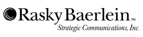 Rasky Baerlein Strategic Communications, Inc. logo. (PRNewsFoto/Rasky Baerlein Strategic Communications, Inc.) ...