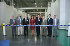 Bluestar Silicones Inaugurates its New Facility in York, S.C. - Pictured (left to right): Ron Hanks, Rep. Tommy Pope, Pascal Chalvon, Governor Nikki Haley, J. Christopher York, David Beaty, Graham Berrill and Mark Neuber.  (PRNewsFoto/Bluestar Silicones)