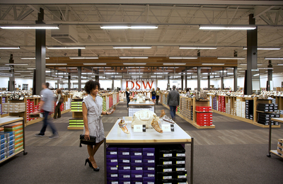 Assortment, value and convenience in 20,000 square feet.  (PRNewsFoto/DSW Inc.)