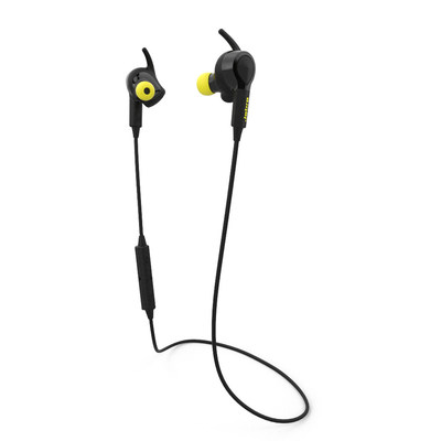 Jabra Sport Pulse Wireless is the world's first stereo earbuds with built-in heart rate monitor and Sport Life App. (PRNewsFoto/Jabra)