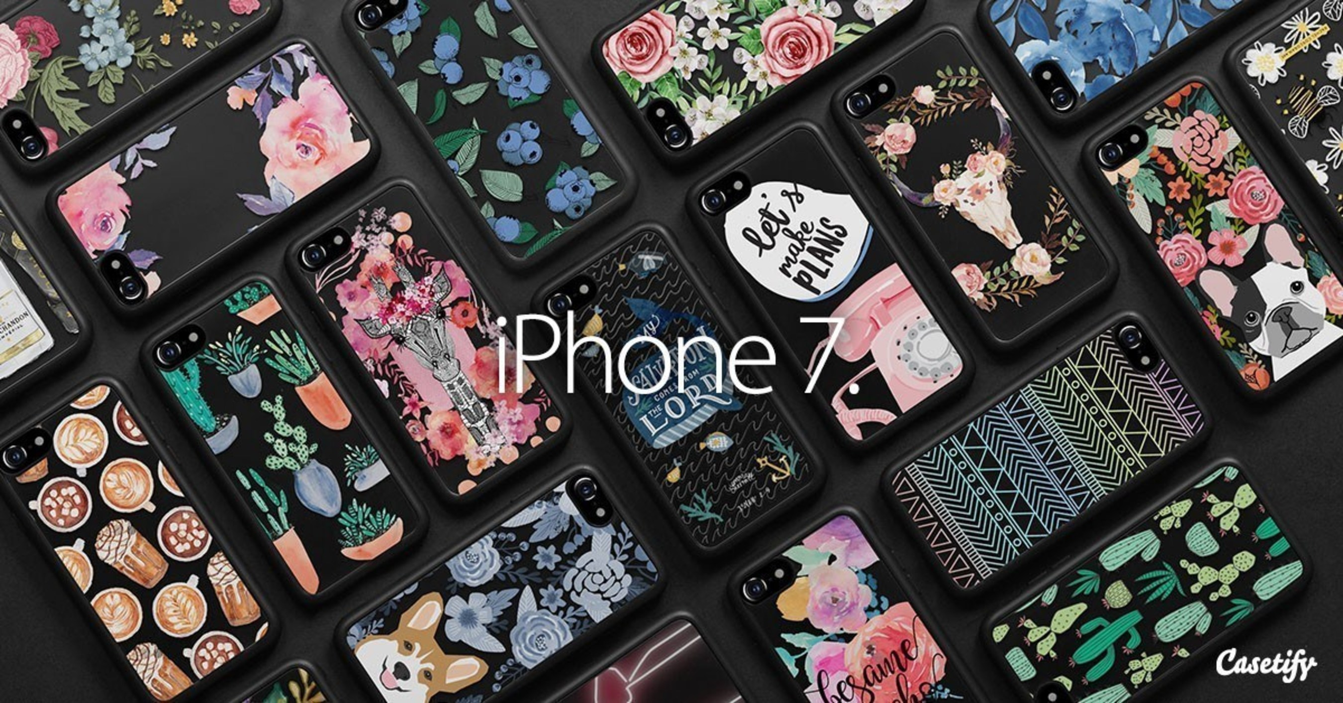 quite nice df10f 038c8 The Must-Have Design Collection the iPhone 7 by Casetify