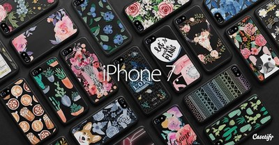 Casetify launches the World's first design collection for iPhone 7 cases on Sept. 15
