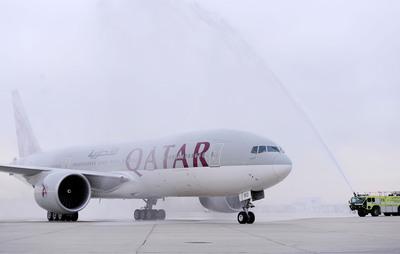 Qatar Airways Flies Into Philadelphia