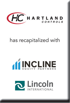 Lincoln International represents Hartland Controls in its recapitalization with Incline Equity Partners. (PRNewsFoto/Lincoln International) (PRNewsFoto/LINCOLN INTERNATIONAL)