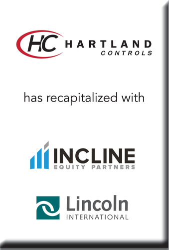 Lincoln International represents Hartland Controls in its recapitalization with Incline Equity Partners.  (PRNewsFoto/Lincoln International)