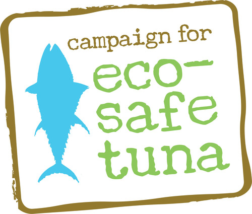Campaign for Eco-Safe Tuna logo.  (PRNewsFoto/Campaign for Eco-Safe Tuna)