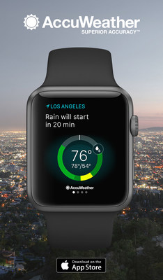 AccuWeather for Apple Watch