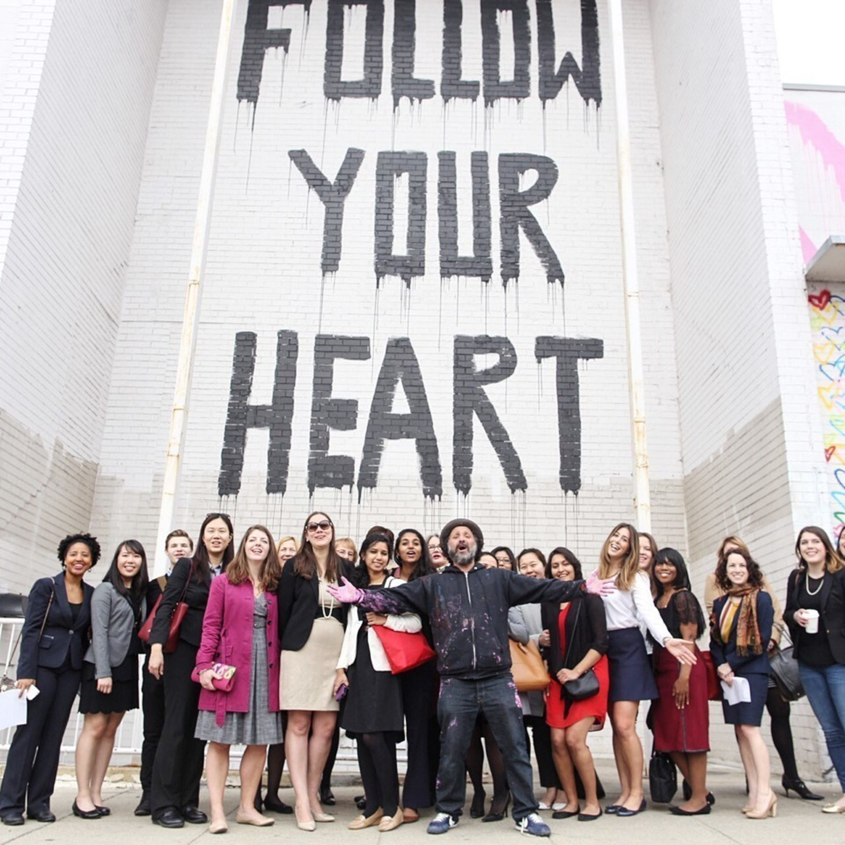 Union Market Celebrates International Women's Day with Michelle Obama and Street Artist Mr. Brainwash; Photo Credit: Gary Williams