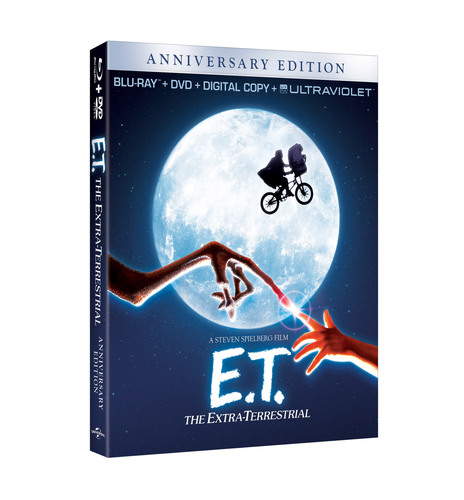 E.T. Blu-ray Combo Pack.  (PRNewsFoto/Universal Studios Home Entertainment)