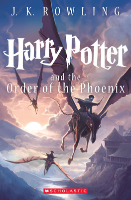 A new cover image for Harry Potter and the Order of the Phoenix, illustrated by New York Times bestselling author and illustrator, Kazu Kibuishi, was revealed today. The cover is the fifth of seven new paperback editions to be released August 27, 2013, in celebration of the September's 15th anniversary of the first U.S. publication of J.K. Rowling's first book, Harry Potter and the Sorcerer's Stone.  (PRNewsFoto/Scholastic Inc.)