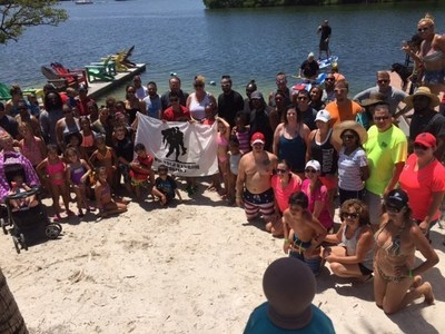 More than 100 wounded warriors and family members took part in the end of summer celebration at The Getaway.