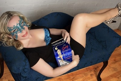 Lantana Bleu, Author of The Spicy Secrets of a Jet-Set Temptress