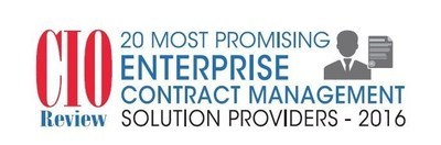 SciQuest Chosen for CIOReview's 20 Most Promising Enterprise Contract Management Solution Providers 2016